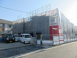 大阪府羽曳野市野々上2丁目の賃貸アパートの外観