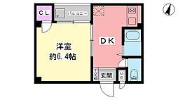 ラ・コート7[3階]の間取り