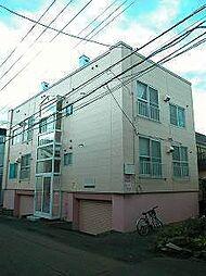 北海道札幌市西区琴似四条4の賃貸アパートの外観