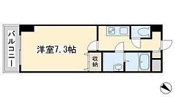 U−Basic reef三萩野[4階]の間取り