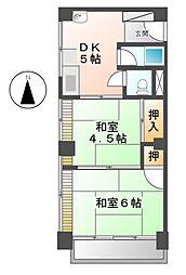 第2村上ビル[3階]の間取り
