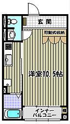 クリプトメリア[2階]の間取り