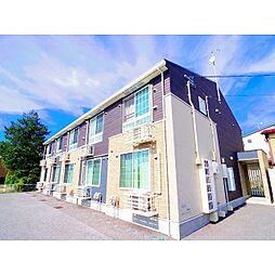 長野県中野市中央4丁目の賃貸アパートの外観