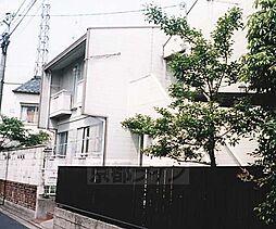 京都府京都市右京区龍安寺斎宮町の賃貸アパートの外観