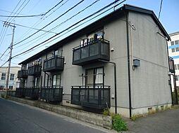 広島県福山市東手城町1丁目の賃貸アパートの外観