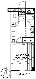 ピュアハイムKEROII[203号室]の間取り