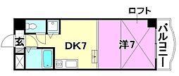 タケワラ148[602 号室号室]の間取り