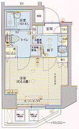ヴェルト川崎[8階]の間取り