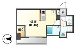仮)ハーモニーレジデンス名古屋新栄[8階]の間取り