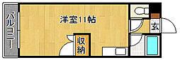 ロイヤルハイツ和白(初期費用実質ゼロキャンペーン中)[4階]の間取り