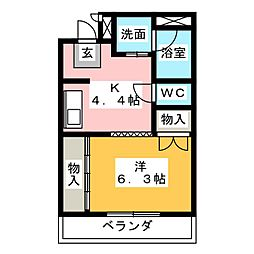 CPビル[3階]の間取り