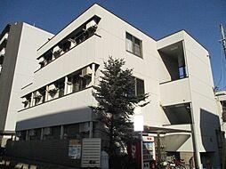東京都日野市万願寺2丁目の賃貸アパートの外観