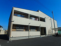 埼玉県北本市深井1丁目の賃貸アパートの外観
