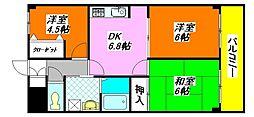 グランシャトレー・DAIWA 403号室[4階]の間取り