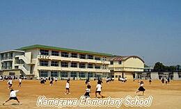 小学校亀川小学校まで1613m