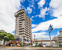 福岡県福岡市早良区西新5丁目の賃貸マンションの外観