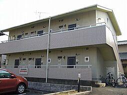 茨城県取手市戸頭2丁目の賃貸アパートの外観