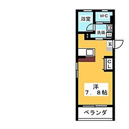 STEED 3[4階]の間取り
