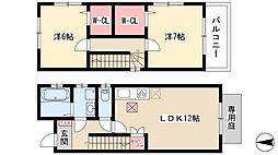 中村日赤駅 10.2万円