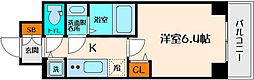 S-RESIDENCE江坂[10階]の間取り