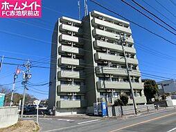愛知県日進市北新町二段場の賃貸マンションの外観