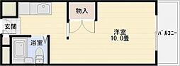 コヤナギ21-B[1階]の間取り