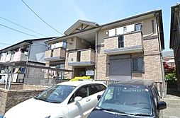 愛知県名古屋市中村区日比津町3丁目の賃貸アパートの外観