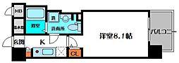 エコロジー京橋レジデンス[11階]の間取り