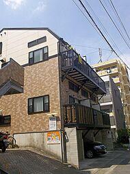 長崎県長崎市扇町の賃貸アパートの外観