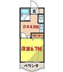 VILLA VERDY3番館[5階]の間取り