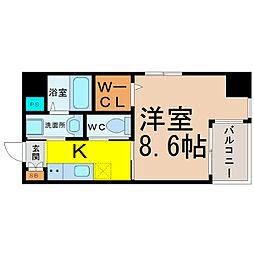maison spade(メゾンスペード)[803号室]の間取り
