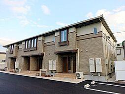 愛知県西尾市平坂町上縄の賃貸アパートの外観
