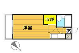 高松町マンション[305号室]の間取り