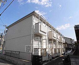 京都府京都市西京区上桂三ノ宮町の賃貸アパートの外観