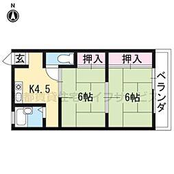 小笹マンション[4階]の間取り