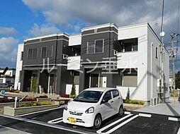 兵庫県三木市志染町広野8丁目の賃貸アパートの外観