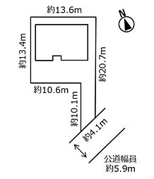 敷地概略図