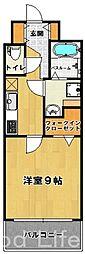 エントピア III[6階]の間取り