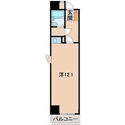朝日プラザ十番丁201号[2階]の間取り
