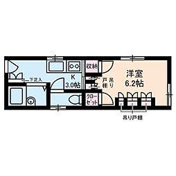 東新小岩パールハイツ[1階]の間取り