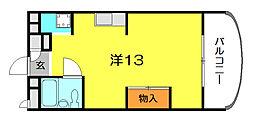 マンション和光[2階]の間取り