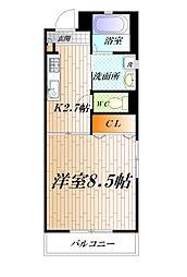 エクセルハイムIII[305号室]の間取り