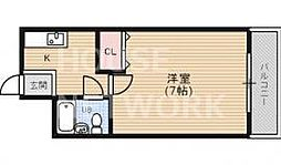 さくらマンションII[210号室号室]の間取り
