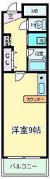 大阪府大阪市住吉区清水丘3丁目の賃貸マンションの間取り