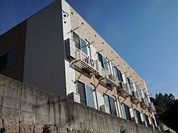 広島県広島市南区北大河町の賃貸アパートの外観