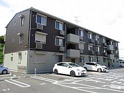 ベイサイドテラス ANNEX Bの3階建てのアパートです。