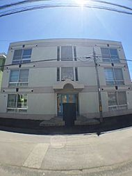 北海道札幌市中央区南五条西15丁目の賃貸マンションの外観