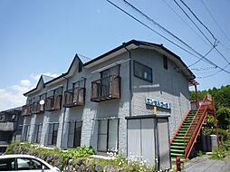 長野県茅野市宮川西山の賃貸アパートの外観