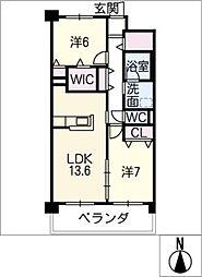 Grantage EAST[3階]の間取り