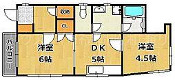 森藤ビル[3階]の間取り